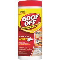 Goof Off Heavy-Duty Multi-Surface Wipes