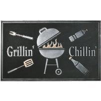 Robert Allen Home & Garden Grillin Door Mat