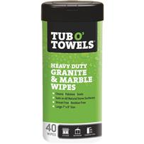 Tub O' Towels Granite & Marble Polishing Wipes