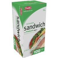 Presto Sandwich Food Storage Bag