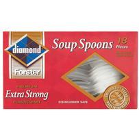 Heavy-duty Plastic Soup Spoons