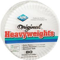 Original Heavyweights Paper Plates
