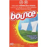 Bounce Fabric Dryer Sheet