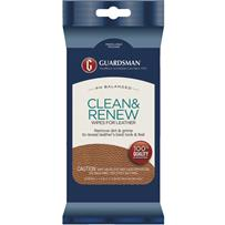 Guardsman Clean & Renew Leather Care Wipes