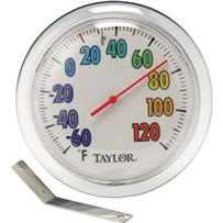 ColorTrack Dial Outdoor Wall Thermometer