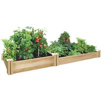 Greenes Fence Stair Step Cedar Raised Garden System