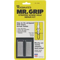Mr. Grip Screw Hole Repair Kit