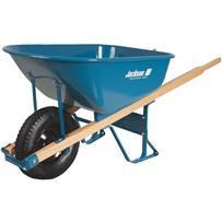 Jackson Professional Flat Free Tire Wheelbarrow