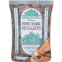 Landscape Select Pine Decorative Bark Mulch Nuggets
