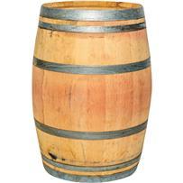 Real Wood Products Oak Rain Barrel