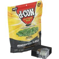 D-Con Refillable Corner Fit Mouse Bait Station