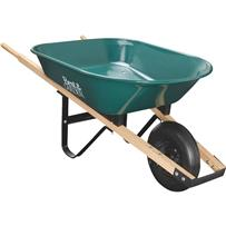 Best Garden 4 Cu. Ft. Flat Free Tire Wheelbarrow
