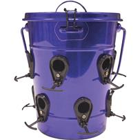 Heath Purple Bucket Bird Feeder
