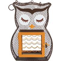 Heath Suet & Seed Owl Bird Feeder