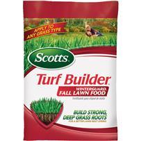Scotts Turf Builder WinterGuard Winterizer Fall Fertilizer