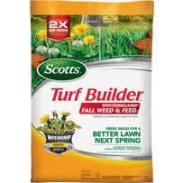 Scotts Turf Builder WinterGuard Weed & Feed Winterizer Fall Fertilizer