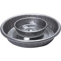 Steel Fountain Poultry Waterer Base