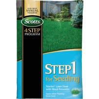 Scotts 4-Step Program Step 1 Starter Fertilizer With Crabgrass Preventer