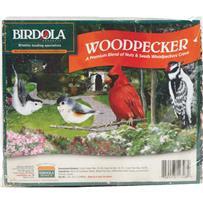 Birdola Woodpecker Wild Bird Seed Cake