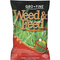 Gro-Fine Weed & Feed Lawn Fertilizer with Weed Killer