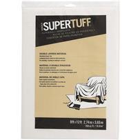 Trimaco SuperTuff Plastic And Paper Combination Drop Cloth
