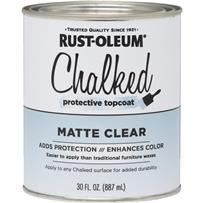 Rust-Oleum Chalked Chalk Paint Topcoat