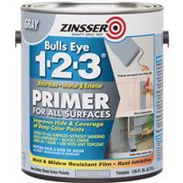 Zinsser Bulls Eye 1-2-3 Water-Base Interior/Exterior Stain Blocking Primer
