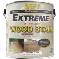DEFY Extreme Transparent Exterior Wood Stain
