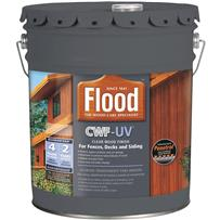 Flood CWF-UV Oil-Modified Fence Deck and Siding Clear Wood Finish