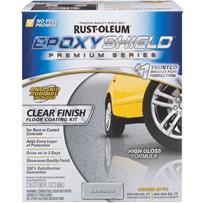 Rust-Oleum EPOXYSHIELD Clear Finish Floor Coating Kit