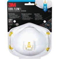 3M Woodworking, Sanding and Fiberglass Valved Respirator
