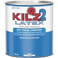 KILZ 2 Latex Interior/Exterior Sealer Stain Blocking Primer