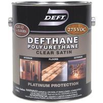 Deft Dethane VOC Clear Finish Interior/Exterior Polyurethane