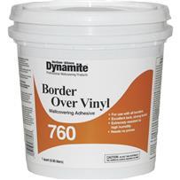 Dynamite 760 Vinyl Over Vinyl Wallcovering Adhesive