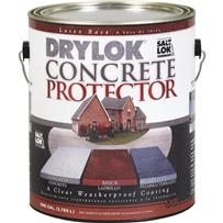 Drylok Concrete Protector With Saltlok Concrete Sealer