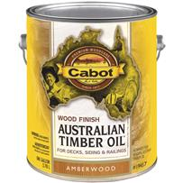 Cabot Australian Timber Oil Water Reducible Translucent Exterior Oil Finish