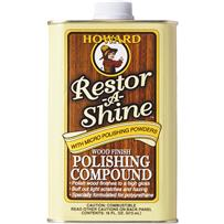 Howard Restor-A-Shine Polishing Cream Wood Polish