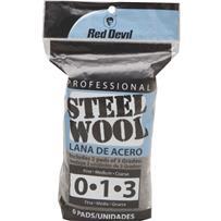 Red Devil 6-Pack Assorted Steel Wool