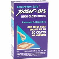Envirotex Lite Pour-On Finish