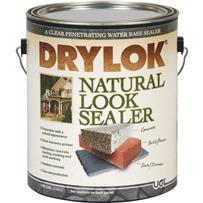 Drylok Latex Clear Natural Look Concrete Sealer