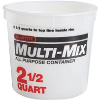Leaktite Mixing And Storage Container
