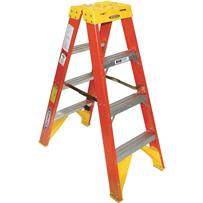 Werner Type IA Twin Step Fiberglass Step Ladder