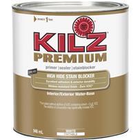 KILZ Premium Water-Base Interior/Exterior Sealer Stain Blocking Primer