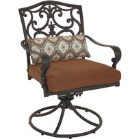 Pacific Casual Portofino Swivel Rocking Chair