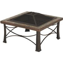 Outdoor Expressions 30 In. Slate Fire Pit