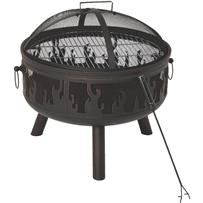 Outdoor Expressions 24 In. Flame Fire Pit