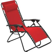 Outdoor Expressions Zero Gravity Relaxer Convertible Lounge Chair