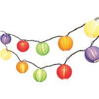Everlasting Glow Colorful Lantern String Lights