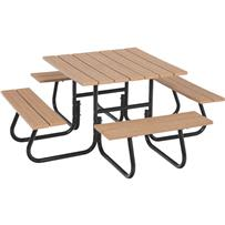 Jack Post 4-Sided Picnic Table - Frame Only