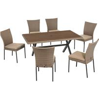 SunJoy Willowstone 7-Piece Dining Set